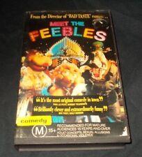 MEET THE FEEBLES VHS PAL PETER JACKSON