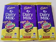 Cadbury PASCAL PINEAPPLE LUMPS dairy milk chocolate LIMITED SPECIAL EDITION x 3
