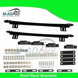 Roof Rack Bracket Roof Channel for Nissan Navara D40 NP300 Double Extra Cab