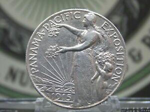 """1915 """"S"""" Panama-Pacific Commemorative Half Dollar 50c #1  ECC&C, Inc."""