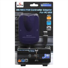 ★★ Adaptateur USB multi-manettes : Saturn, PSX/PS2 et N64 Garantie 1an ★★