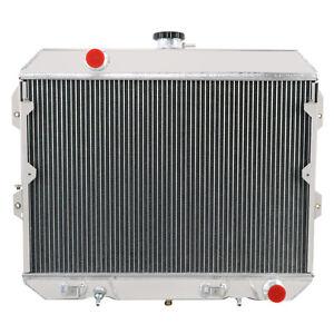 3 Rows Aluminum Radiator fits 1981-1983 82 NISSAN Datsun 280ZX L6 2.8L Cooler