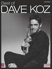 BEST OF DAVE KOZ SAXOPHONE SHEET MUSIC SAX SONG BOOK