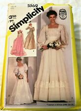 Uncut Women's Dress Patterns Vintage '80s Collectibles with Instruction Guides