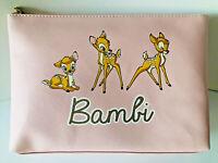 Disney Bambi Kosmetiktasche Groß Kulturbeutel Make-up Schminktasche XXL Primark