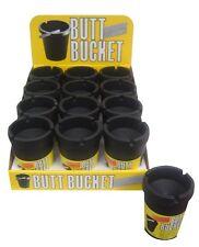 Bulk Lot : 12 x Butt Bucket Ashtray: Brand New In Box