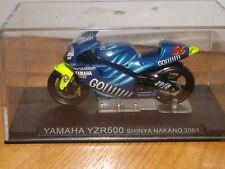 DE AGOSTINI 1/24 SCALE YAMAHA YZR500 MOTORCYCLE - SHINYA NAKANO 2001