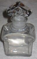"""Vintage Guerlain Baccarat Signed Display Perfume Bottle - 6 1/2"""" - Ht - 8 OZ #4"""