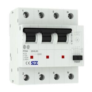 Fi Switch 25A 30mA 4p 10kA fi Protection Switch Residual Current 5425