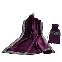 Altar Tarot Table Cloth Pouch Tablecloth Purple Decor Divination Square Wicca