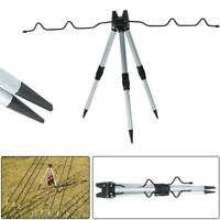 Sea Fishing Beach Stabilizer Bar Tripod for 5 Rods Rest Beach Stand UK