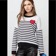 Rails Women's Perci heart sweater Sz M NWT MSRP $188