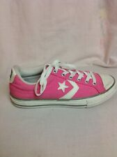 LADIES CONVERSE ALL STAR PINK TRAINERS SIZE 35.5 Uk 3
