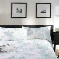 Stunning Floral Design Jardin Butterfly Duvet Cover Set in Duck Egg Double Bed