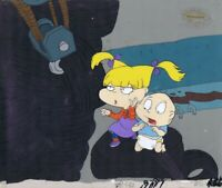 RUGRATS Production Cel Cell Original Nickelodeon 1990s Tommy Angelica Tire