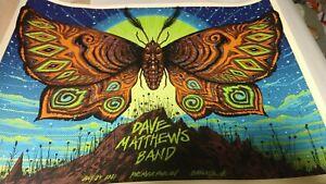 Dave Matthews Band Show poster - #/800 Charlotte 7/24/2021