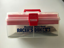 Original Classic Rare NEW Tamiya Mini 4WD Model Racing Carry Pit Box 15051
