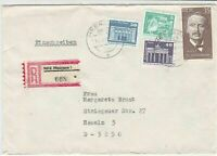 german democratic republic 1950s stamps cover ref 19204