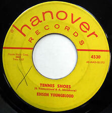 EDISON YOUNGBLOOD 45 Tennis Shoes / Maybe Now TEEN Rockabilly HANOVER 1959 m219