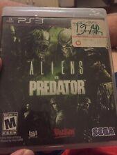 Playstation 3 PS3 Video Game Aliens Vs Predator