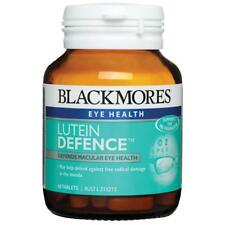 BLACKMORES LUTEIN DEFENCE 60 TABS DEFENDS MACULAR EYE HEALTH VITAMIN ZEAXANTHIN