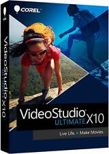 Corel VideoStudio Ultimate X10 - Brand New Retail Box VSPRX10ULMLMBAM