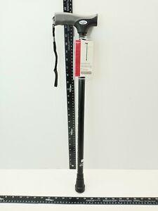 "Equate  Comfort Grip Walking Cane 300 lbs Black Capacity 39.5"" Max Height Adjust"
