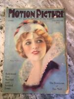 Motion Picture Magazine June 1924 Movie Star Mary Pickford On Cover
