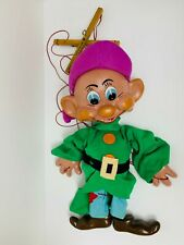 Disney Pelham Puppet Dopey Snow White & Seven Dwarfs Large Professional Vintage