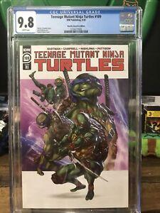 Teenage Mutant Ninja Turtles 109 cgc 9.8 1:10 Retailer Incentive Chavez Cover