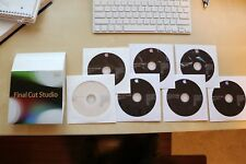 Apple Final Cut Studio 3 Retail Version Complete with Serial Number in the Box