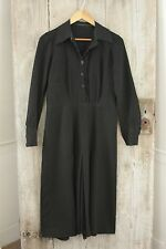 Vintage Dress French c1940's black woman's clothing