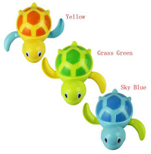 Baby Turtle Wound-up Chain Small Animal Toy Bath Toy For Boy Girl Random Color