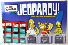 The Simpsons Edition Jeopardy! Board Game