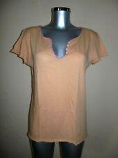 Zadig & Voltaire - Tee-shirt Tunisien - Orange / Rose - Taille 40fr