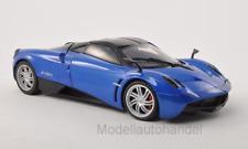 Pagani Huayra metallic-blau/schwarz  1:18  Motormax  *NEW*