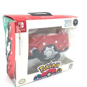 PowerA Enhanced Wireless Controller - Pokemon Poke Ball Red: Nintendo Switch