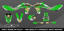 KIT ADESIVI GRAFICHE WINGS GREEN  per moto SM 125 S 2006 DECALS DEKOR