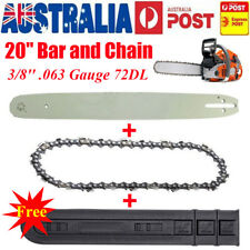 "20"" Bar and Chain 3/8'' .063"" 72DL For Stihl Chainsaw 029 038 039 MS290 MS310"