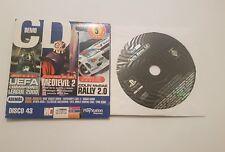 Euro Demo 58 Playstation 1 PS1 nuevo,sellado pal España demo medievil 2 etc.