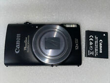 Canon PowerShot ELPH 350 HS / IXUS 275 HS 20.2MP Digital Camera - Black