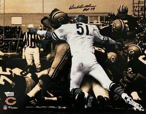 Chicago Bears Dick Butkus HOF '79 Signed 11x14 Photo Fanatics Hologram