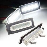 feux de plaque d'immatriculation LED pour Benz Smart Fortwo Cabriolet W450 W453