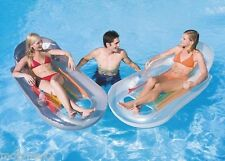 Bestway Inflatable Luxury Fashion Pool Lounger Swimming Lilo Reclining BW43028