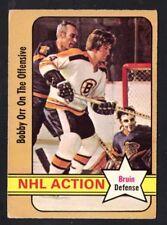 1972-73 OPC BOBBY ORR #58 NHL ACTION VG-EX (REF 8833)