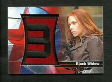 2014 Upper Deck CAPTAIN AMERICA The Winter Soldier BADGES Patch BLACK WIDOW B-14