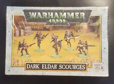 Warhammer 40K Dark Eldar Scourges GW box - Metal OOP  New and Sealed
