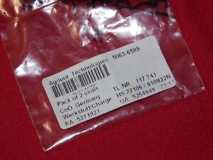 New Agilent Piston Seal, PTFE, 2/pk; 5063-6589