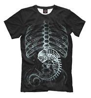 Alien tee - shirt HQ print legendary character of Alien movie