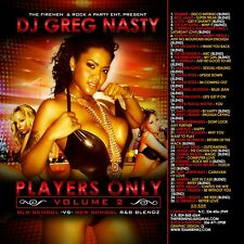 "DJ Greg Nasty - ""Players Only 2 OLD SCHOOL & R&B Blends MIX CD"